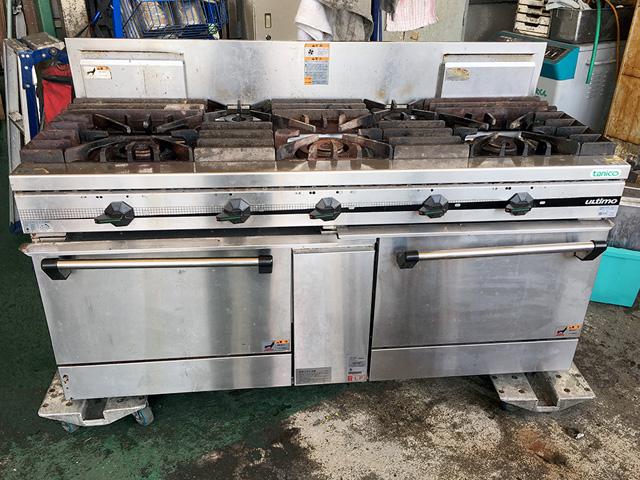 TSGR 1532 岐阜にて、厨房機器 タニコー ガスレンジTSGR 1532を買取いたしました。