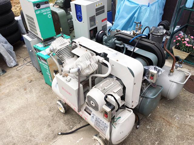 complesser matomete 岐阜にて、工具 エアドライヤーとレシプロコンプレッサーをまとめて買取致しました。