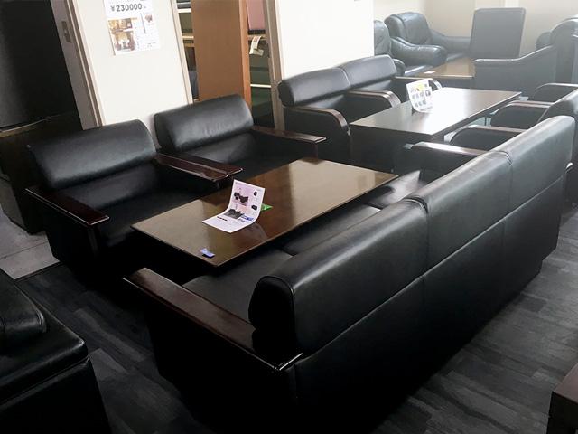 kokuyo anaberu2 岐阜にて、オフィス家具 コクヨ応接4点セットアナベル2シリーズを買取致しました。