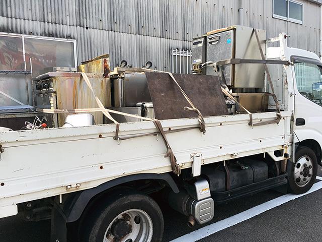 marugoto kaitori1 岐阜にて、厨房機器をお店丸ごと買取いたしました。