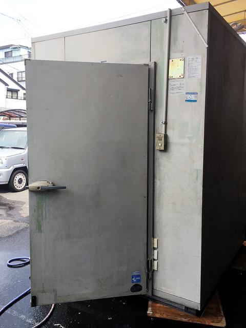 sanyo prehub 岐阜にて、厨房機器 サンヨープレハブ型1坪冷蔵庫を買取いたしました。