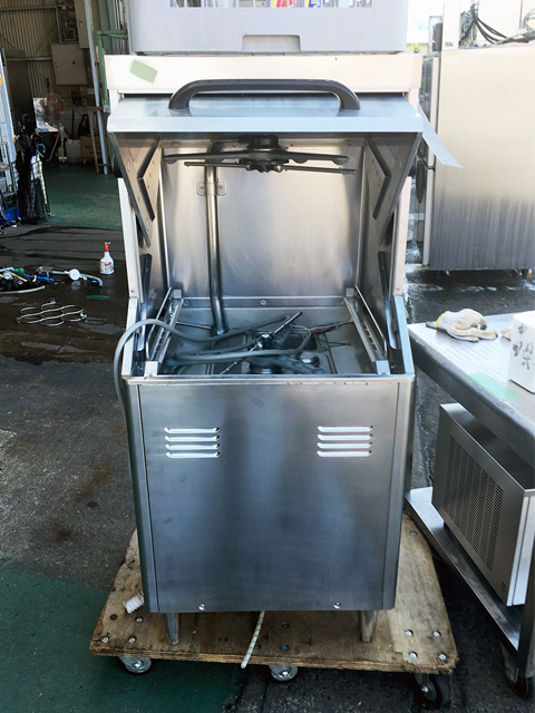 JWE 450RUA3 L 2 岐阜にて、厨房機器 ホシザキ業務用食器洗浄機JWE 450RUA3 Lを買取致しました。
