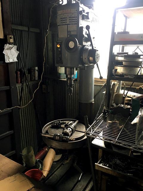 KRTG 540 三重にて、工作機械 旋盤、ボール盤まとめて買取致しました。