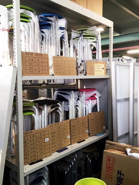 maruisu 三重にて、オフィス家具、丸椅子ミーティングチェアをまとめて買取致しました。