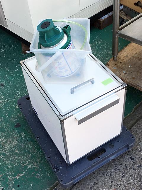 nittoku beer 愛知にて、厨房機器 ニットク 氷冷式ビールディスペンサーを買取いたしました。