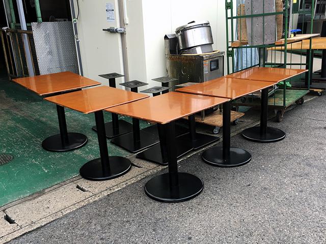 tenpo table 三重にて、厨房機器 店舗用椅子、テーブルまとめて買取致しました。