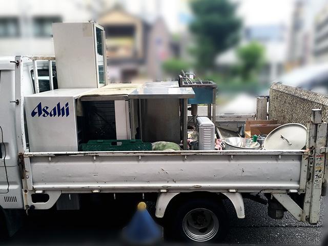 tsumikomi 1 無限堂はきちんとした厨房機器買取・搬出作業を行っているの?実際に同行取材を行いました!