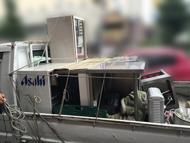 tsumikomi 2 無限堂はきちんとした厨房機器買取・搬出作業を行っているの?実際に同行取材を行いました!